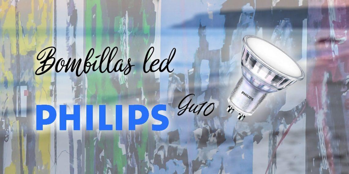 philips gu10 led