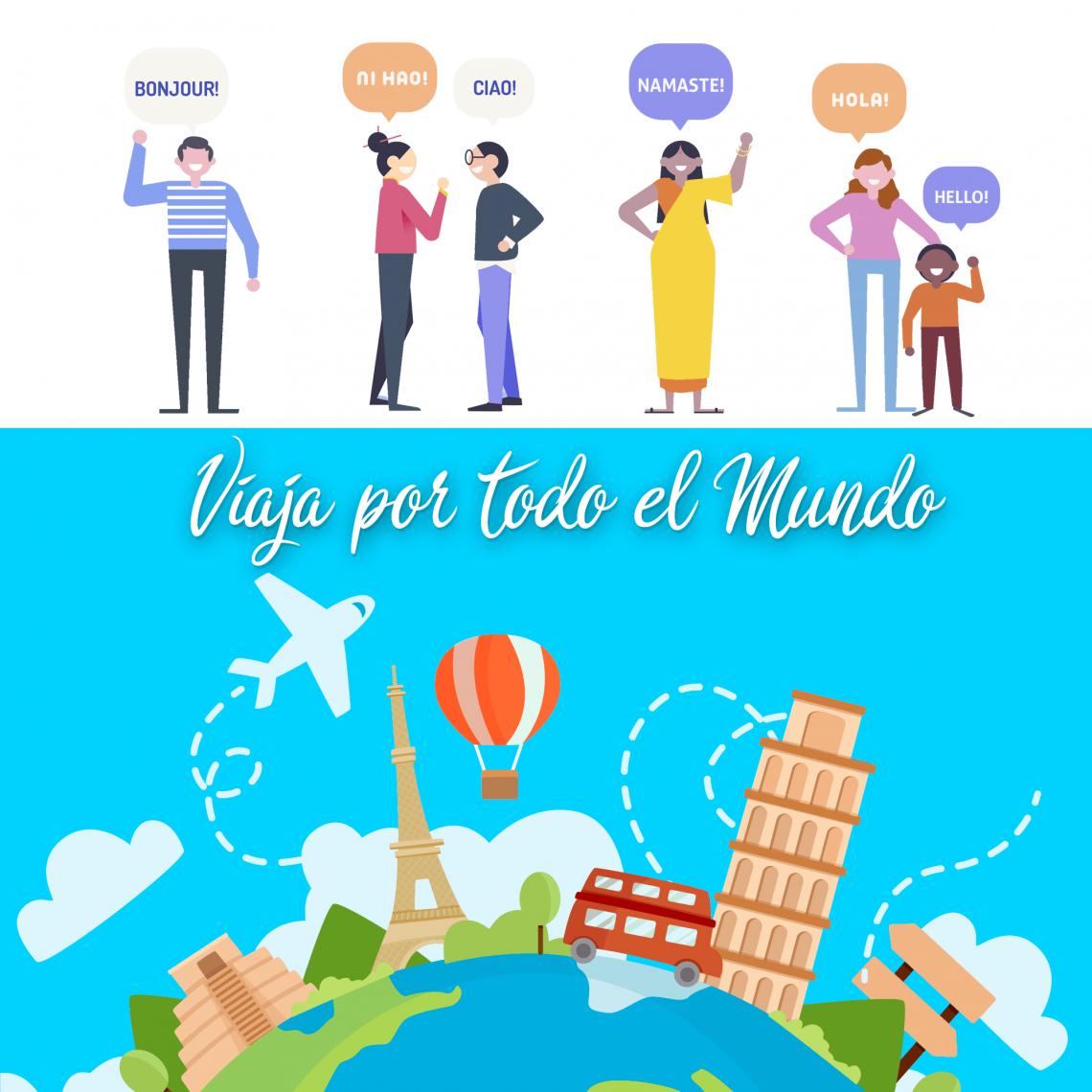 Selección de traductores instantáneos. Viaja por todo el mundo!